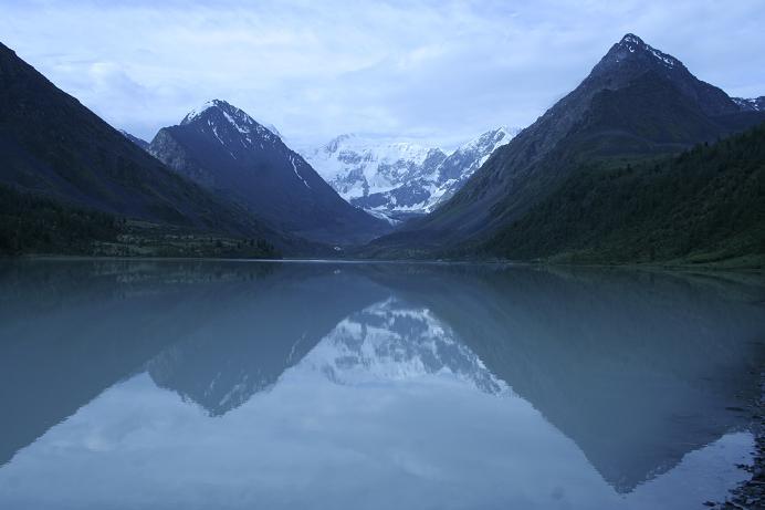 """фото """"У подножия Белухи"""" метки: пейзаж, горы"""