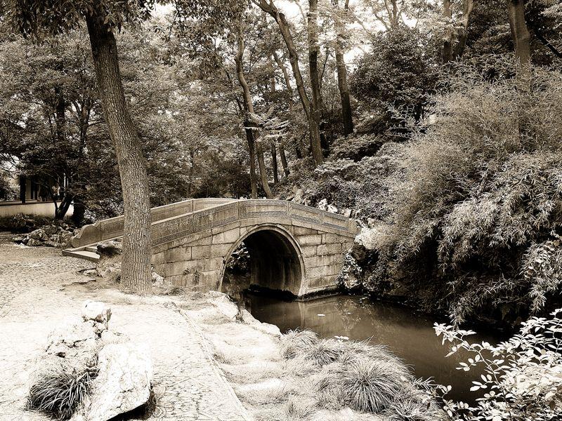 """фото """"В старом парке"""" метки: пейзаж, путешествия, Азия"""