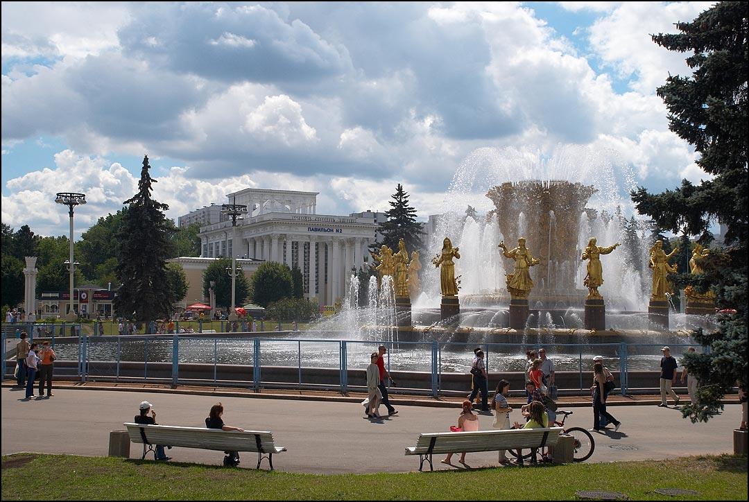 """фото """"Воскресный летний день на ВВЦ."""" метки: город,"""