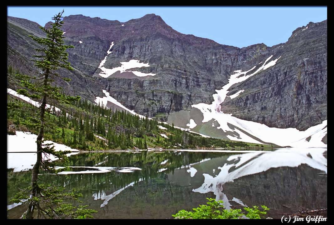"""фото """"Crypt Lake"""" метки: пейзаж, вода, горы"""