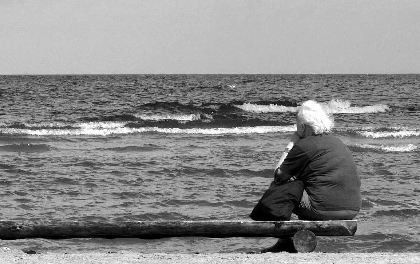 """фото """"Широкоформатная старость."""" метки: жанр, черно-белые,"""