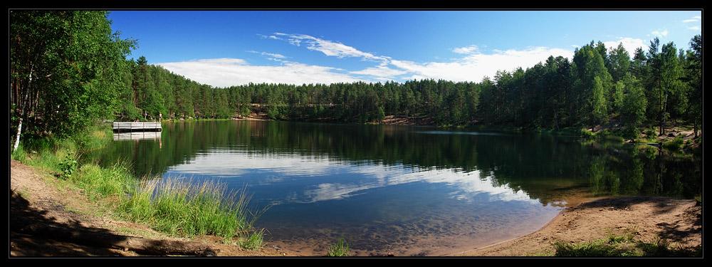 """фото """"Радужное озеро"""" метки: пейзаж, вода, лето"""