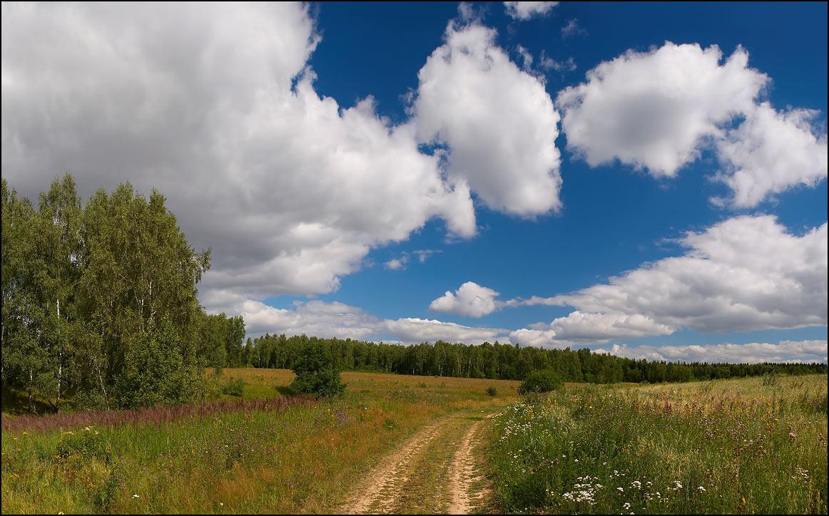 """фото """"Лето с нами"""" метки: пейзаж, панорама, облака"""
