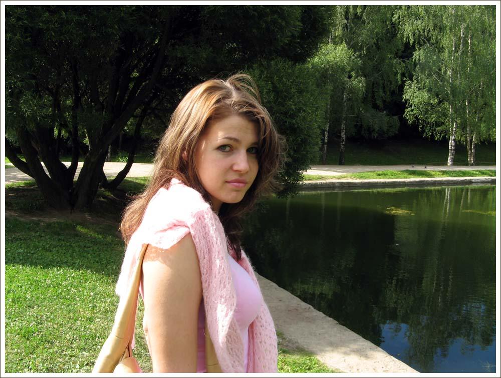 "фото ""у пруда"" метки: портрет, женщина"
