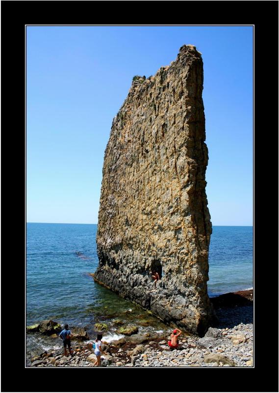"""фото """"Скала """"Парус"""""""" метки: пейзаж, вода, горы"""