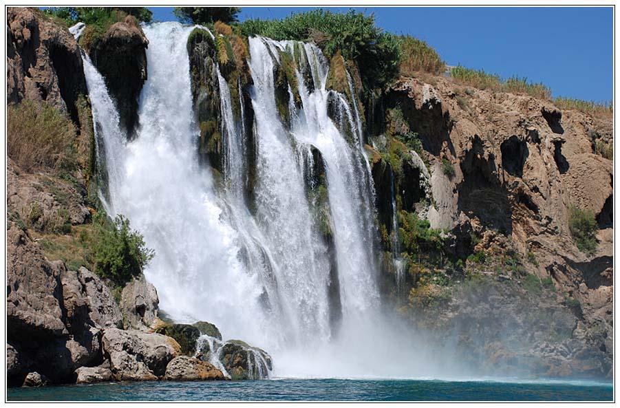 "фото ""Водопад (Турция, Анталия)"" метки: пейзаж, путешествия, Европа, вода"
