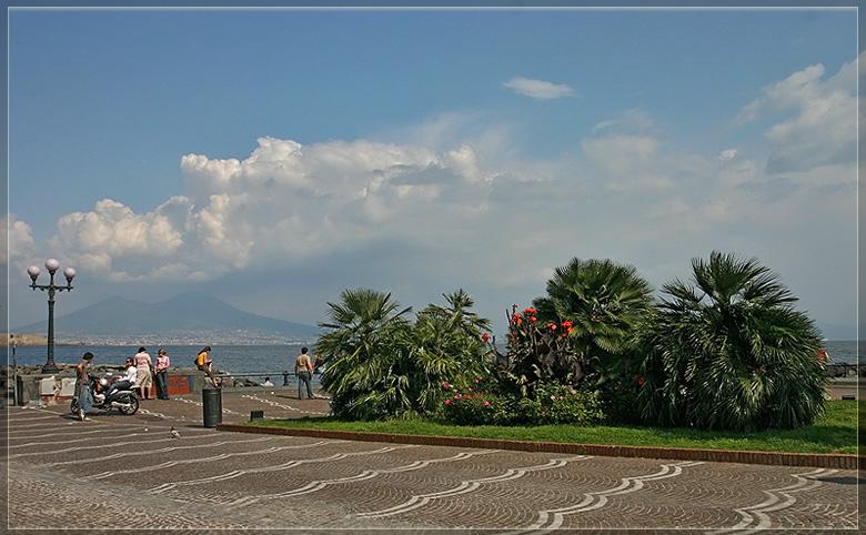 "фото ""Неаполь. Вид на Везувий."" метки: путешествия, пейзаж, Европа"