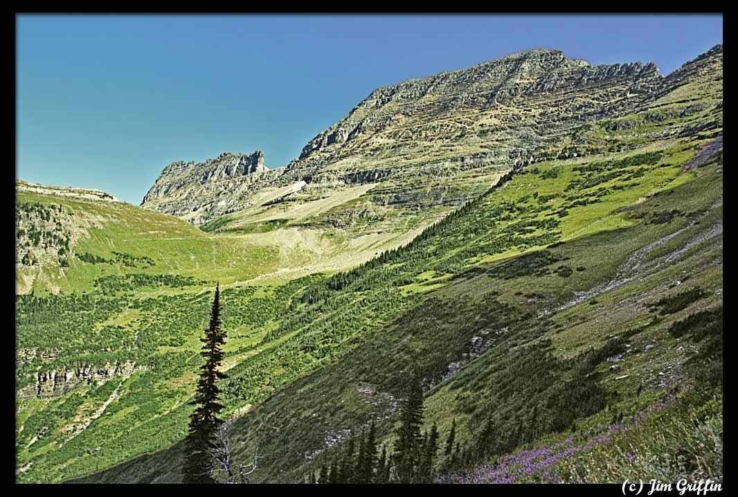 """фото """"Continuing along the highline trail"""" метки: пейзаж, горы, лето"""