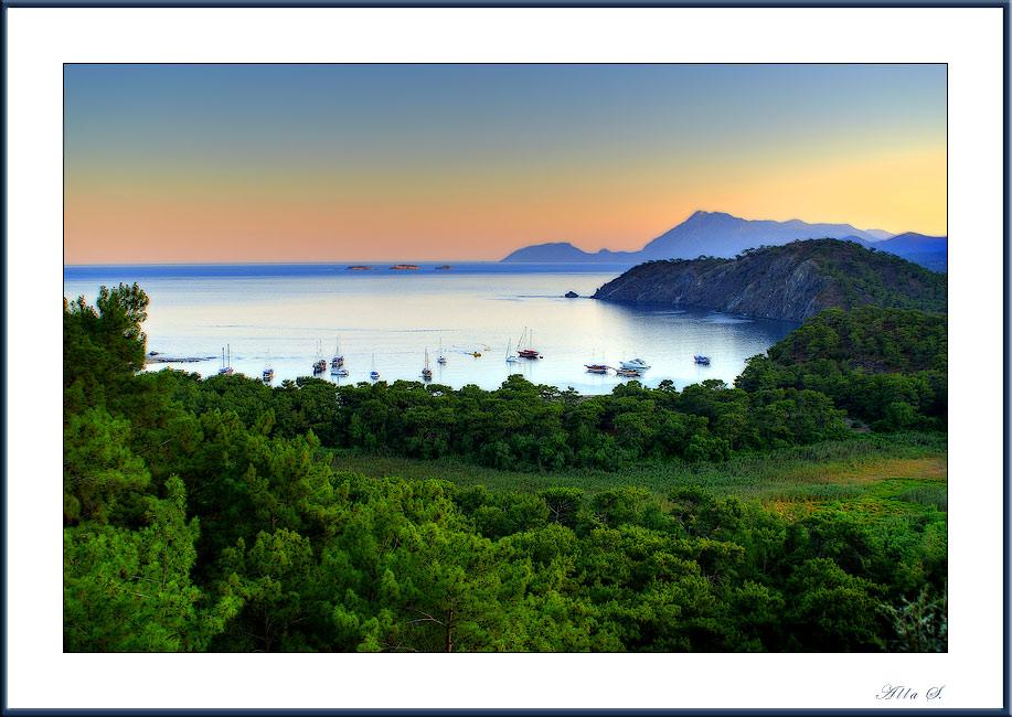 "фото ""Ещё одна картинка с моря..."" метки: пейзаж, вода, лето"