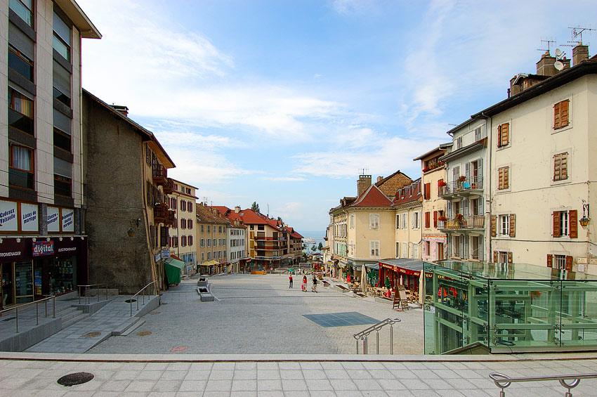 """фото """"Evian"""" метки: архитектура, путешествия, пейзаж, Европа"""