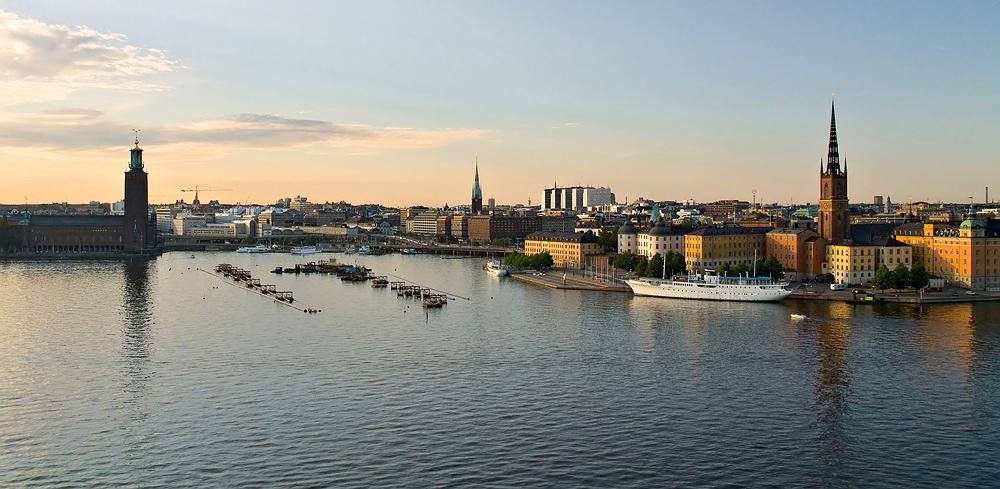 """фото """"Стокгольм  с высоты"""" метки: путешествия, город, Европа"""