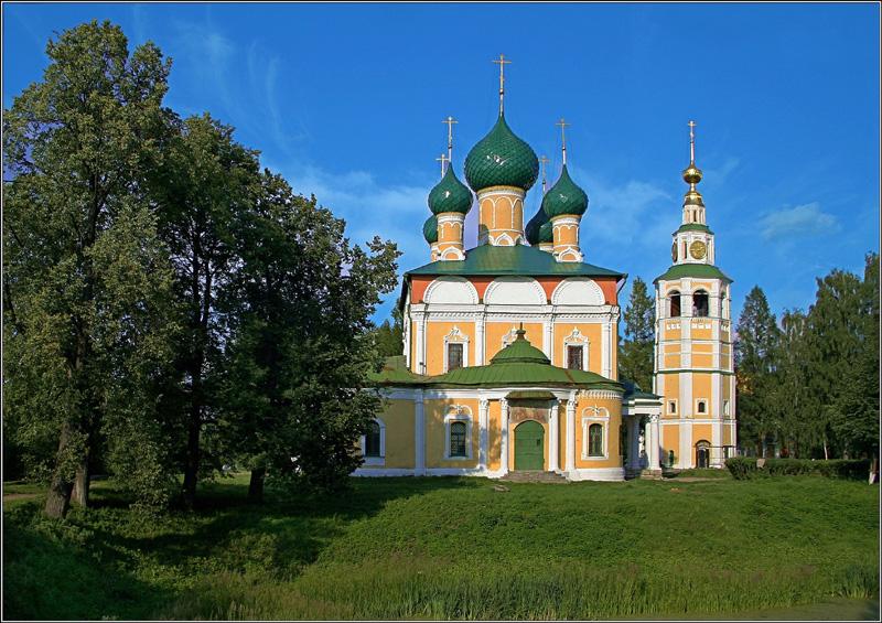 "photo ""Uglich, Spaso- Transfiguration Cathedral"" tags: architecture, landscape,"