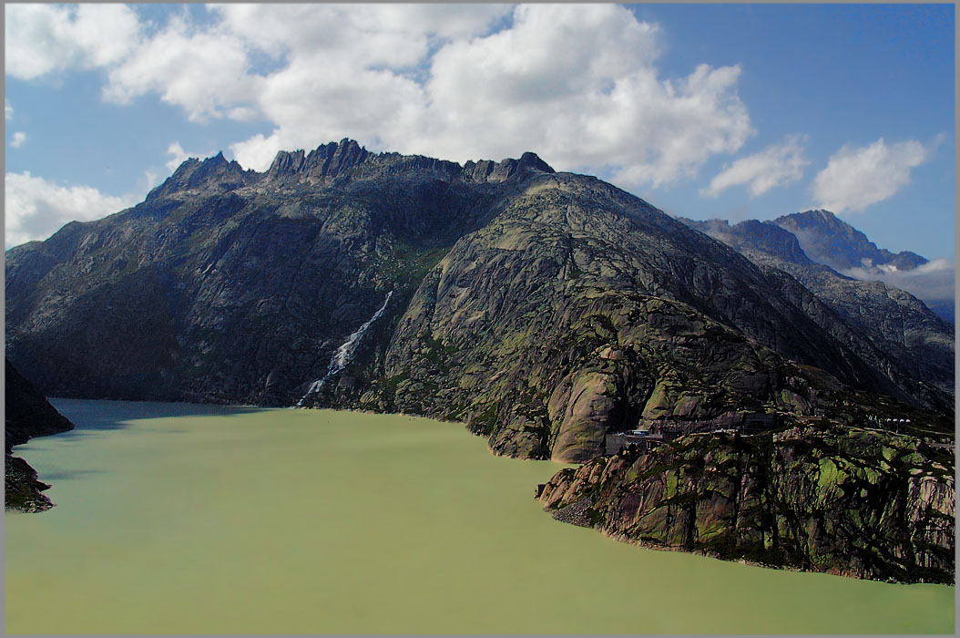 """фото """"Верхушка Альп"""" метки: пейзаж, вода, горы"""