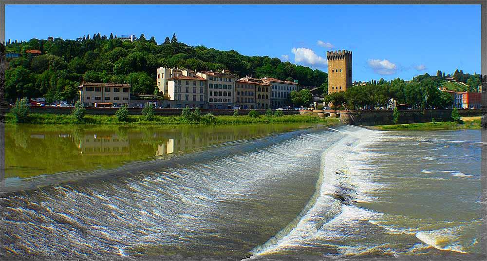 "фото ""флорентийский этюд"" метки: пейзаж, путешествия, Европа, вода"