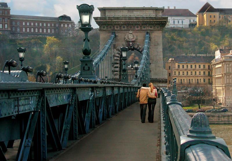 "фото ""a mighty bridge.."" метки: архитектура, пейзаж,"