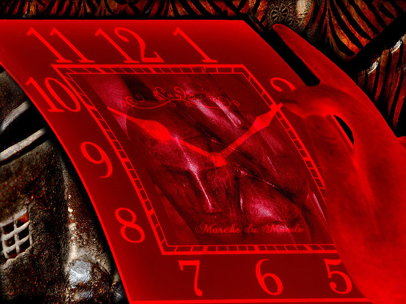 """photo """"Поворачивая стрелки (Turning the Hands of the Clock)"""" tags: montage, abstract,"""