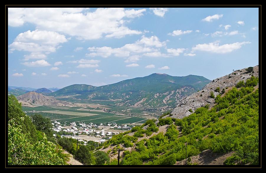 """фото """"Крымская долина"""" метки: пейзаж, горы"""