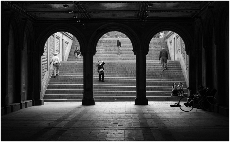 "фото ""Triptych."" метки: черно-белые, разное,"