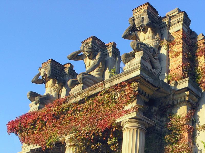 "photo ""Ruins"" tags: architecture, travel, landscape, North America"