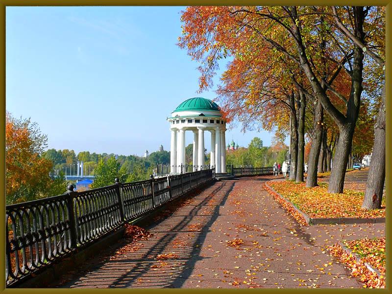 """фото """"Беседка 2"""" метки: пейзаж, город, осень"""