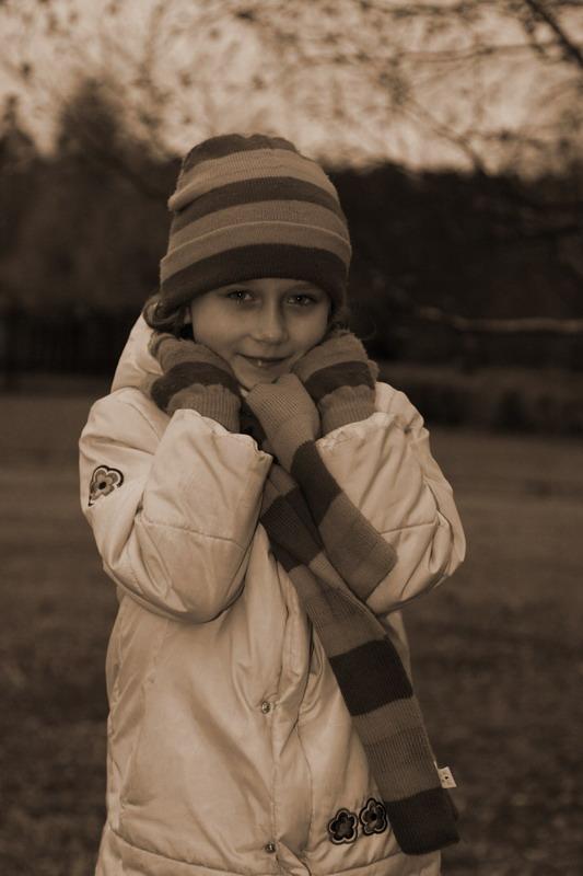 """фото """"Холодный осенний вечер..."""" метки: портрет, дети"""