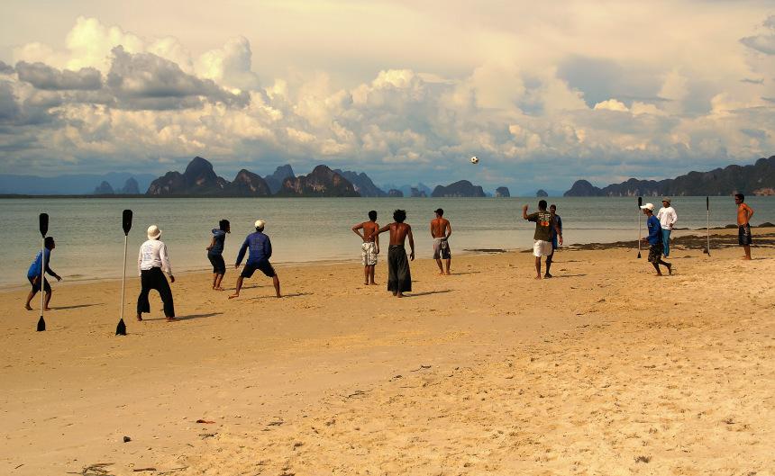 """фото """"Футбол на Марсе"""" метки: путешествия, Азия"""
