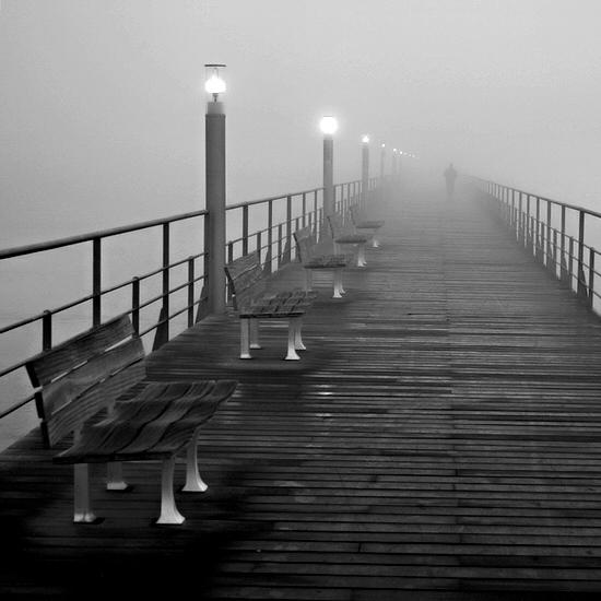"фото ""Path"" метки: город, черно-белые,"