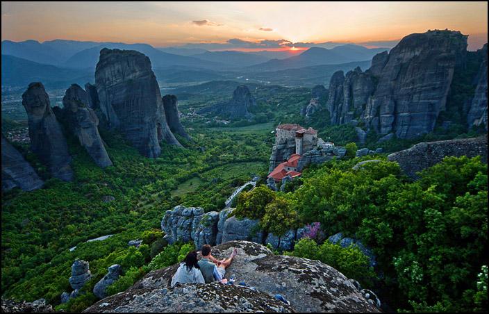 """фото """"Закатная..."""" метки: пейзаж, горы, закат"""
