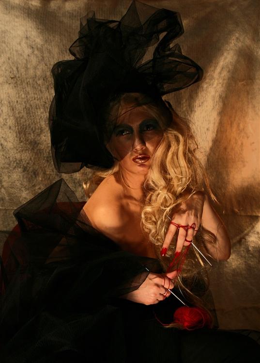 """фото """"Чёрная Вдова"""" метки: гламур, портрет, женщина"""