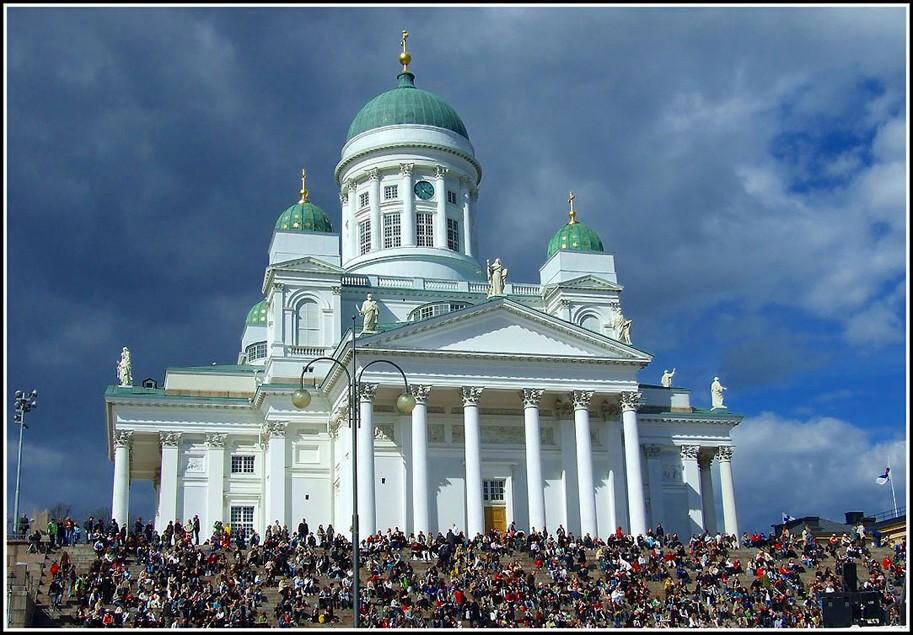 """фото """"Хельсинское столпотворение.."""" метки: архитектура, путешествия, пейзаж, Европа"""