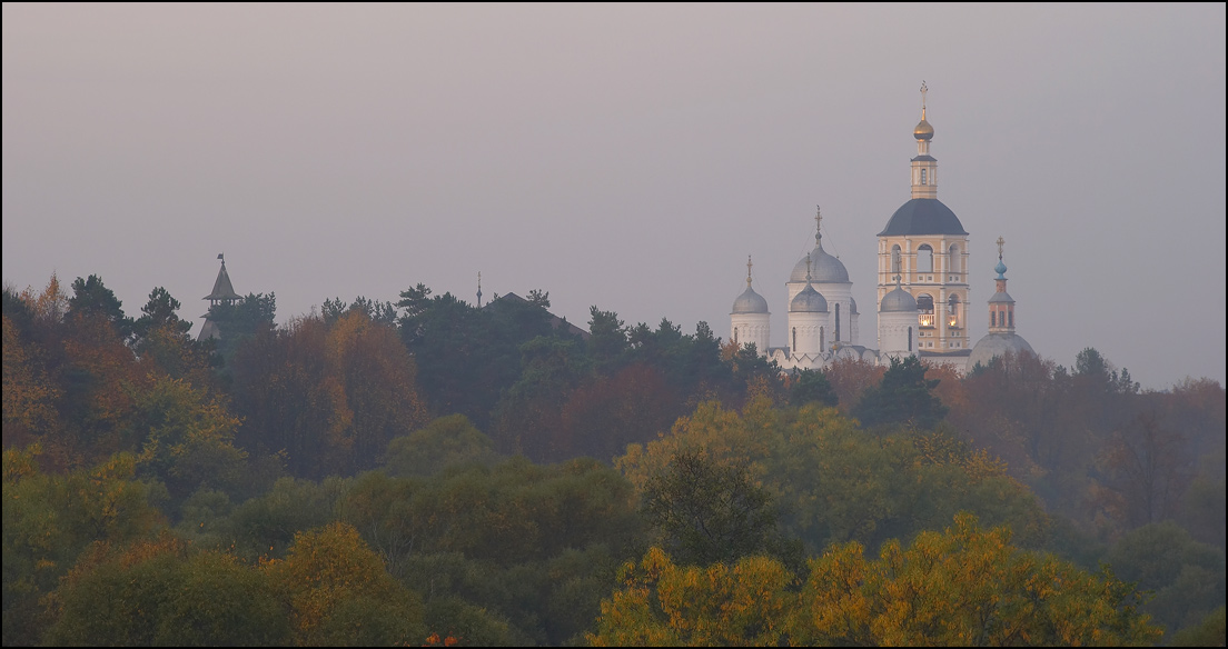 "photo ""Borovsk. Landscape 5."" tags: landscape, autumn"