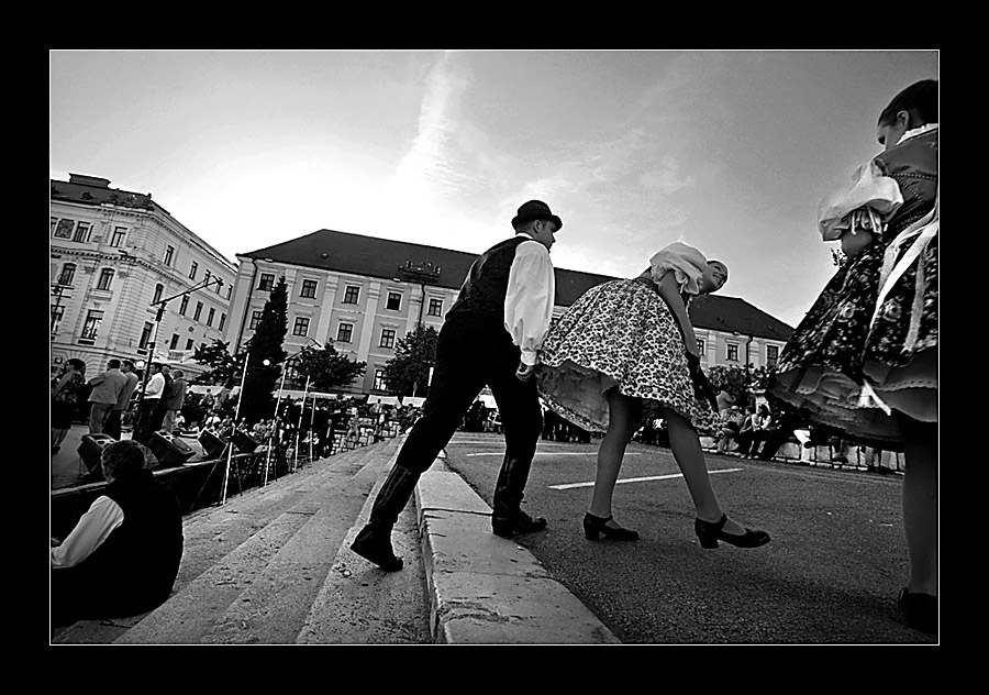 "photo ""Part 3. ..and the dancers are leaving"" tags: black&white, genre,"