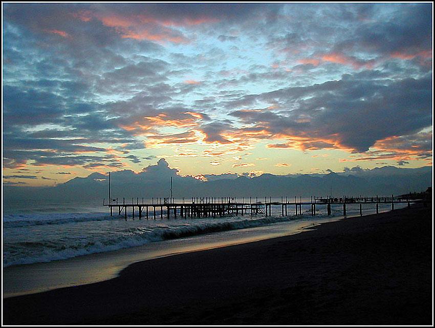 "фото ""Было облачно.."" метки: пейзаж, закат, облака"