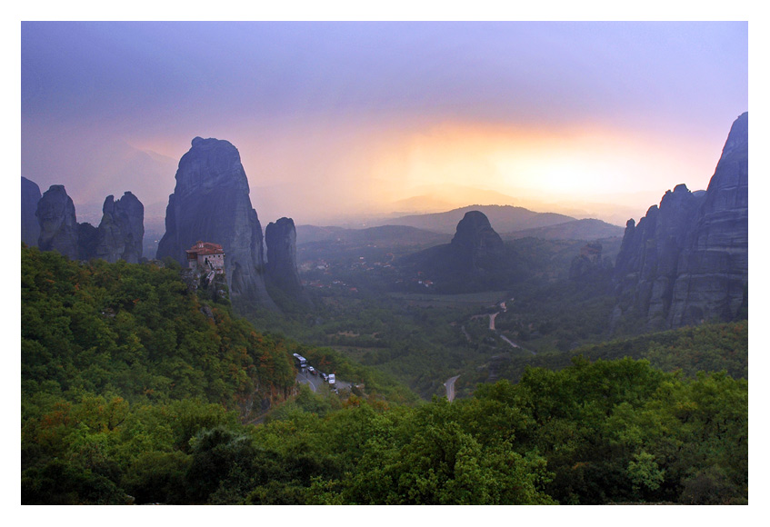 "photo ""Meteora"" tags: landscape, mountains"