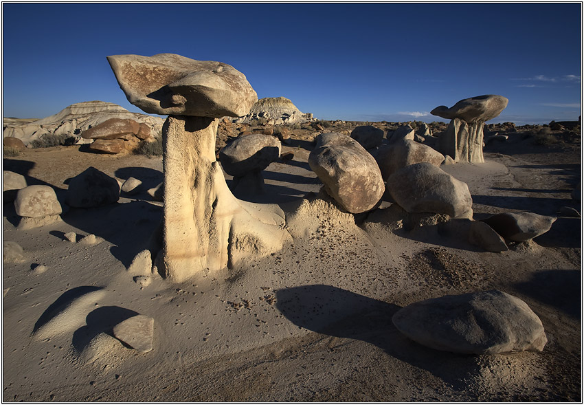 "photo ""Bisti Badlands."" tags: landscape, travel, North America"