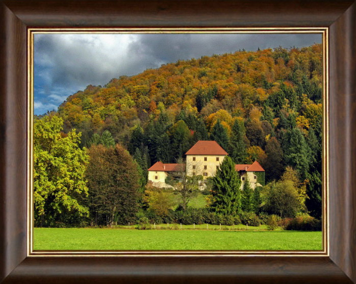 "photo ""Castle Strmol"" tags: architecture, landscape,"