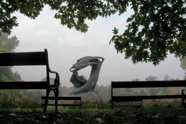 "фото ""Фредерик Шопен. Осенняя соната."" метки: пейзаж, город, осень"