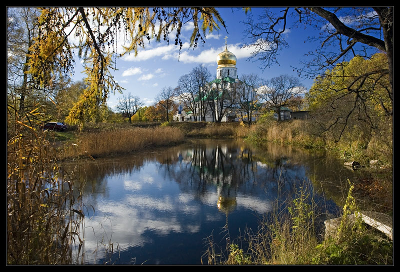 "photo ""Pushkin. Theodor Cathedral"" tags: landscape, travel, water"