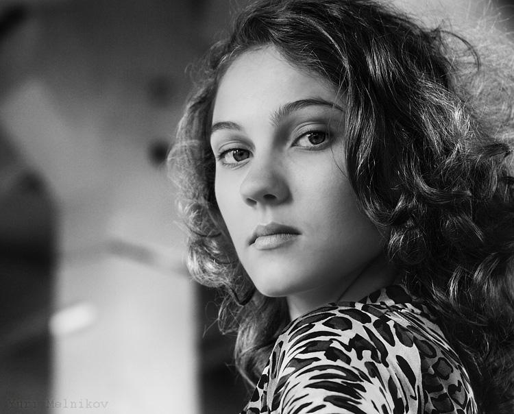 "фото ""Ирина"" метки: портрет, черно-белые, женщина"