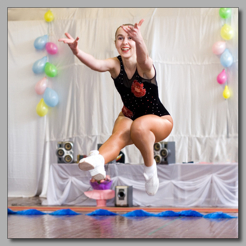 "photo ""Jump"" tags: portrait, sport, woman"