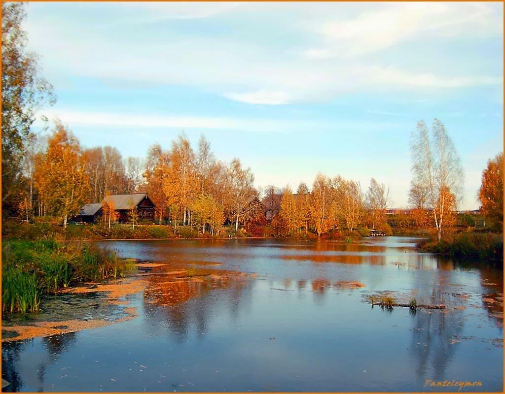"photo ""Autumn from the bridge"" tags: landscape, autumn"