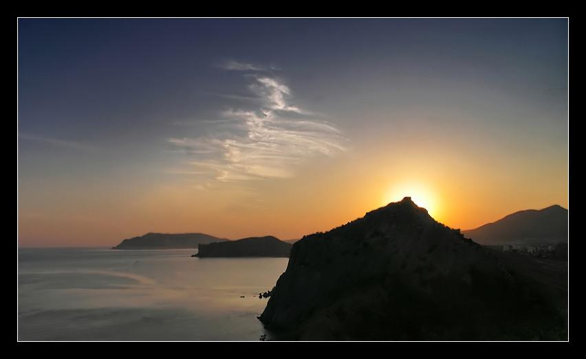 """фото """"Waiting For The Sun"""" метки: пейзаж, закат, лето"""