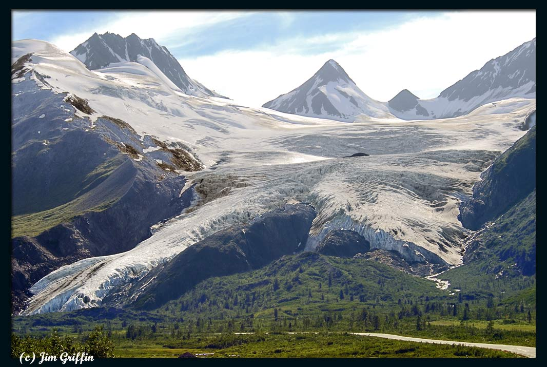 "photo ""Worthington glacier"" tags: landscape, mountains, summer"