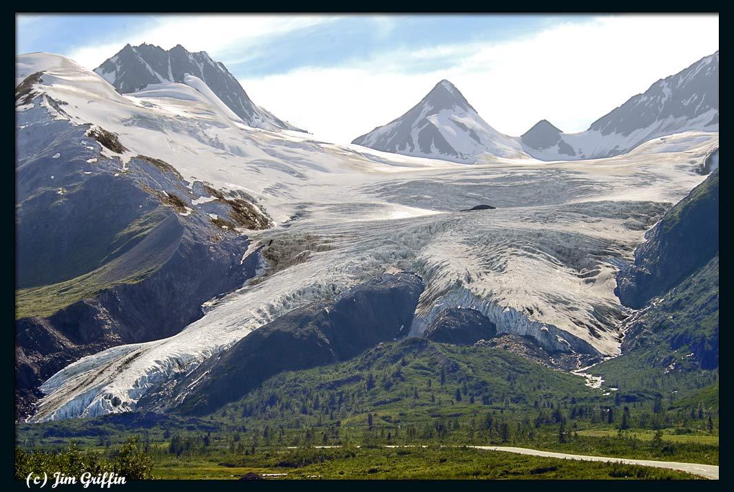 """фото """"Worthington glacier"""" метки: пейзаж, горы, лето"""