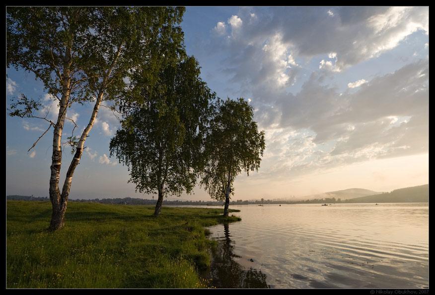 """фото """"Черноисточинск / 0171_0114"""" метки: пейзаж, лето, рассвет"""