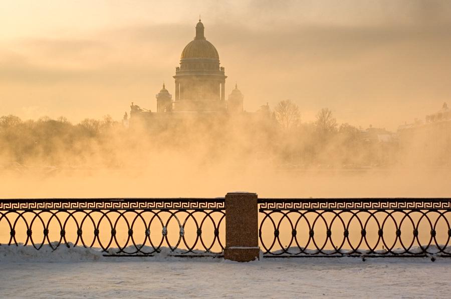"""фото """"Нева. Парит..."""" метки: город,"""