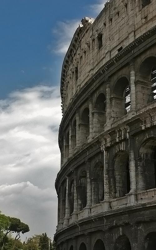 """photo """"Coliseum"""" tags: architecture, travel, landscape, Europe"""