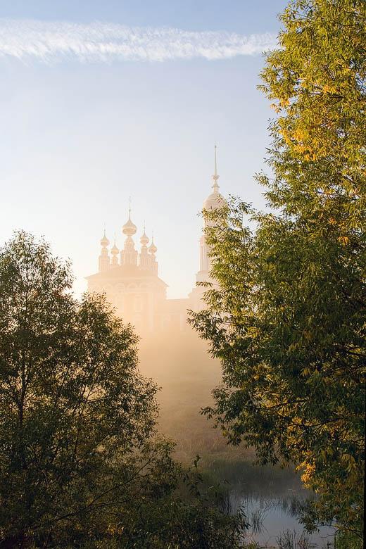 """фото """"Утро туманное 2"""" метки: пейзаж, закат"""