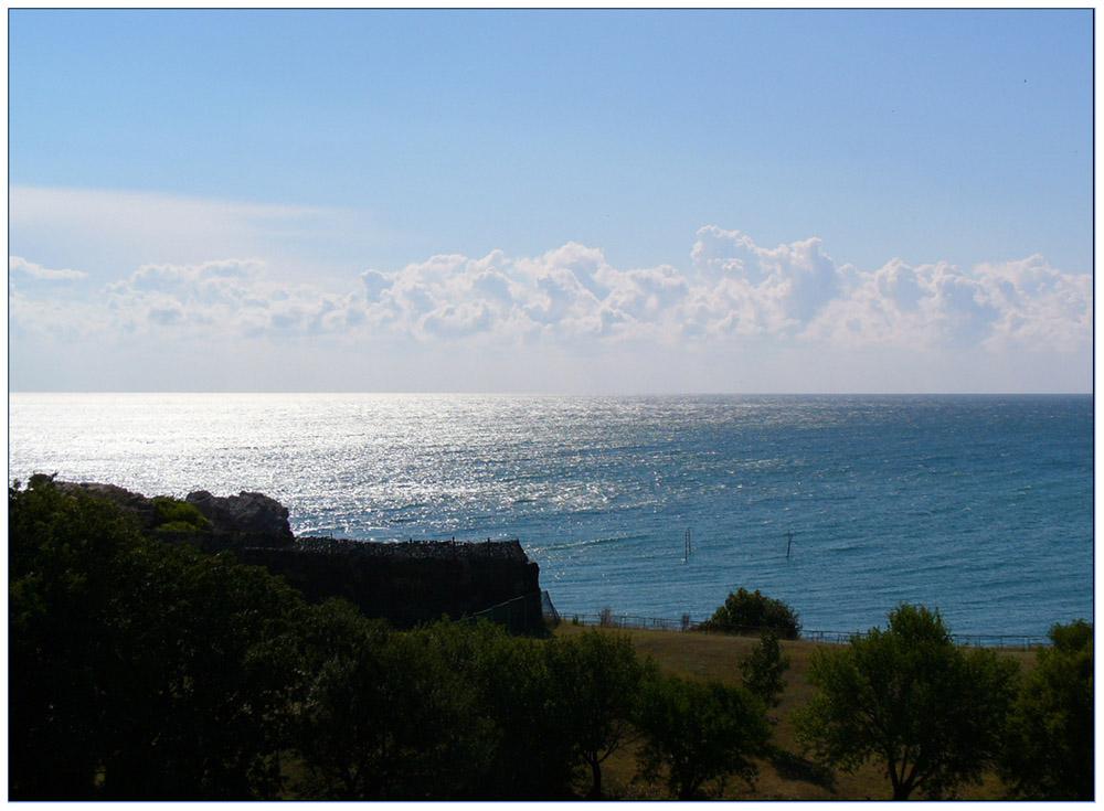"фото ""Sea morning"" метки: пейзаж, вода, облака"