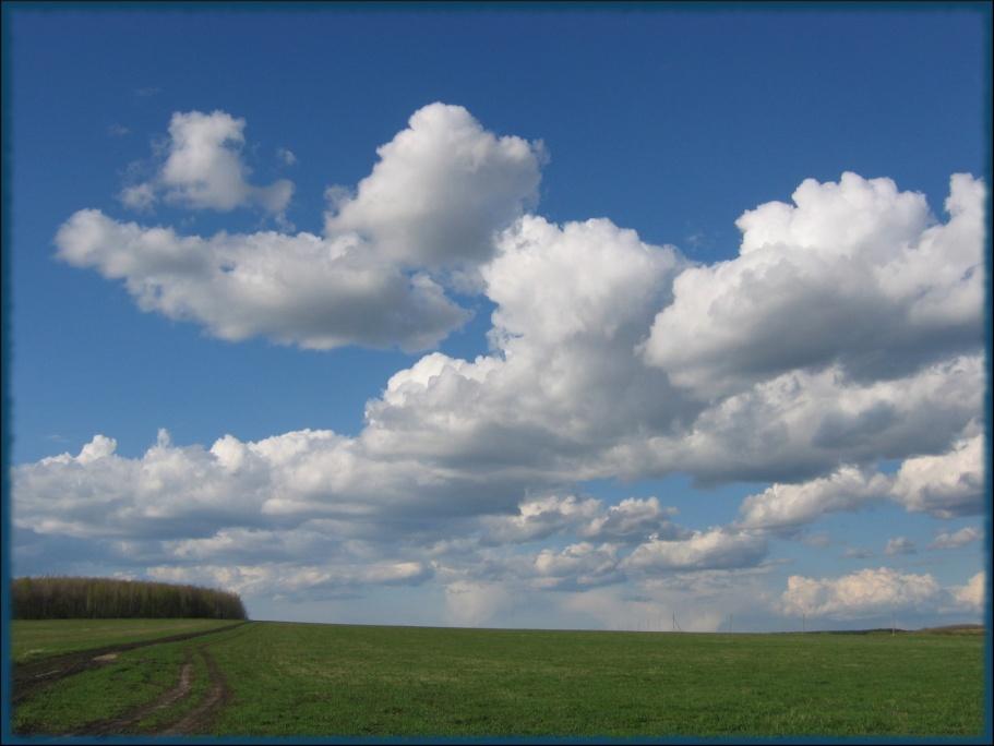 "фото ""Под облаками"" метки: пейзаж, облака"
